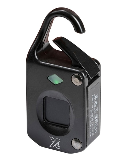 branded scx.design t10 fingerprint padlock
