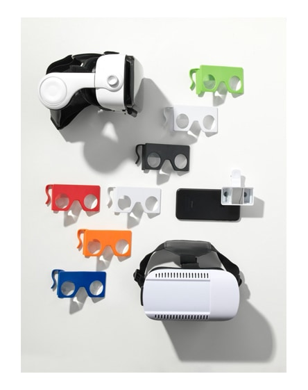 branded spectacle virtual reality headset