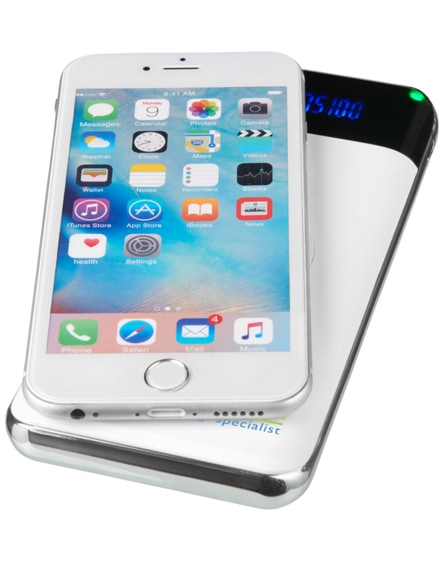 branded constant 10.000 mah wireless power bank with led
