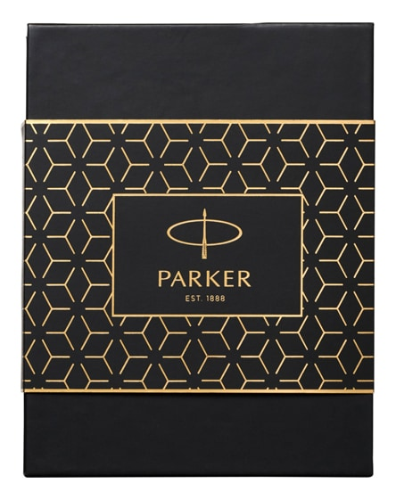 branded gift set box with slim power bank