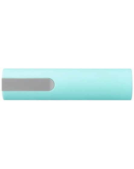 branded jinn 2200 mah power bank with rubber finish