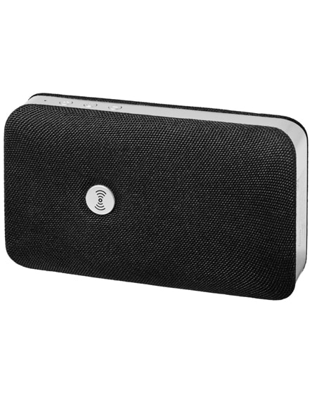 branded palm bluetooth speaker with wireless power bank