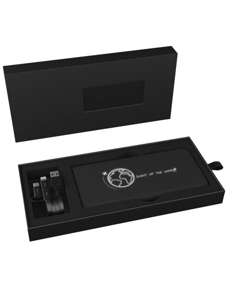 branded scx.design p18 light-up wireless stick powerbank