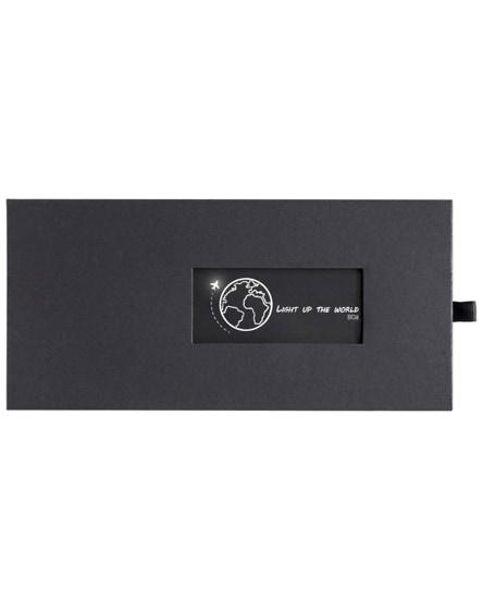 branded scx.design p30 light-up solar powerbank