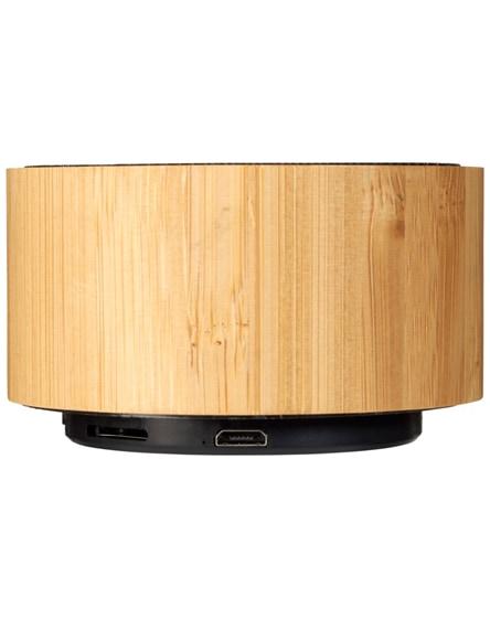 branded cosmos bamboo bluetooth speaker
