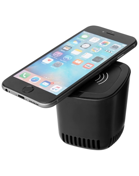 branded jack bluetooth speaker and wireless charging pad