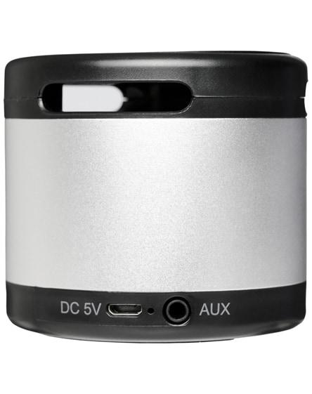 branded jones metal bluetooth speaker with wireless charging pad