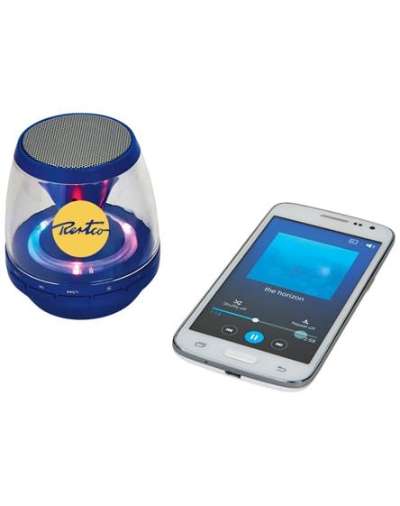 branded rave light-up bluetooth portable speaker