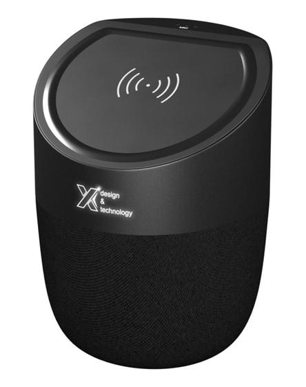 branded scx.design s45 light-up wireless charging speaker
