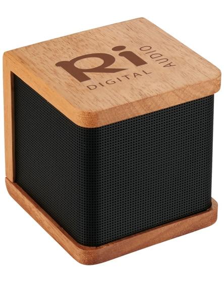 branded seneca wooden bluetooth speaker