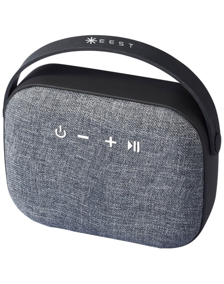 branded woven fabric bluetooth speaker