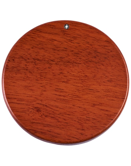 branded bora wooden wireless charging pad