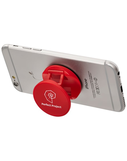 branded brace phone stand with grip