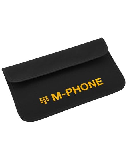 branded chamber rfid blocker phone case