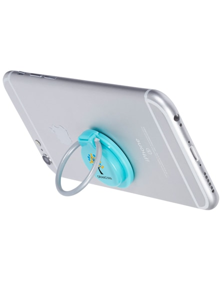 branded loop ring and phone holder