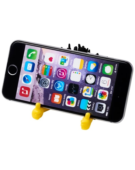 branded moptopper pop-i phone stand and screen cleaner