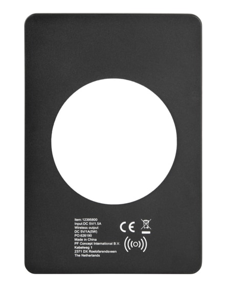 branded orb wireless charging pouch