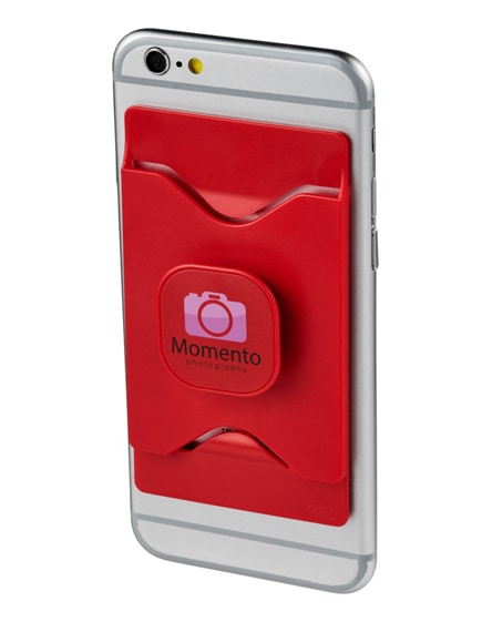 branded purse mobile phone holder with wallet