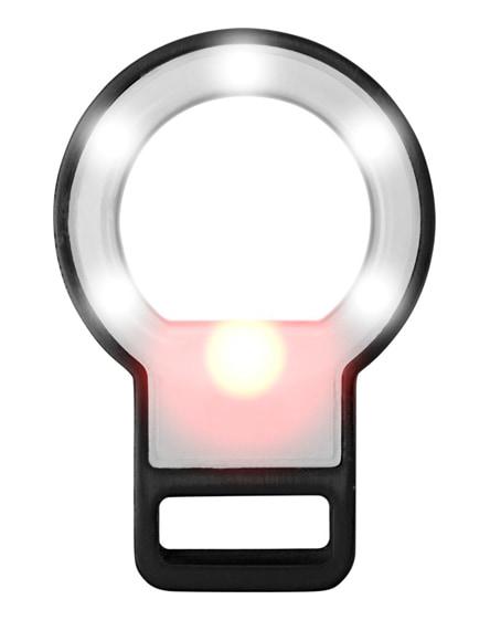 branded reflekt led mirror and flashlight for smartphones