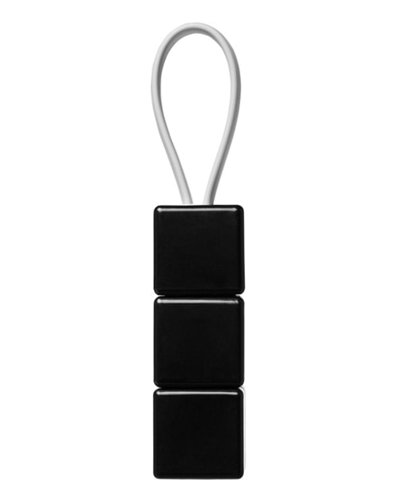branded rubik's mobile charging cable set