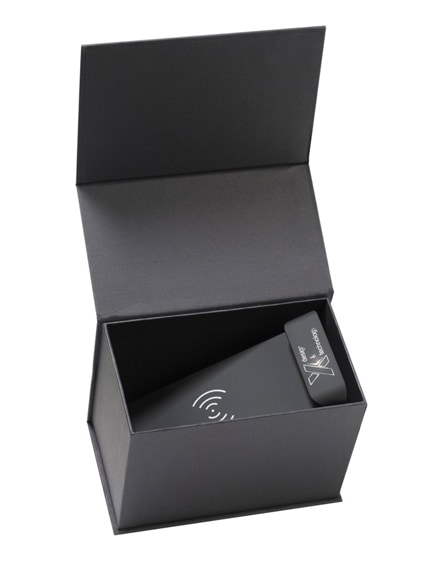 branded scx.design w15 10w light-up wireless charging stand