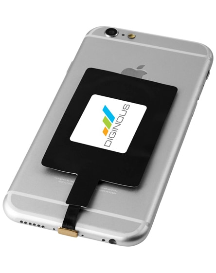 branded solution wireless charging receiver for ios phone