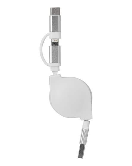 branded triple 3-in-1 charging cable