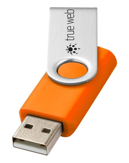 branded rotate-basic 4gb usb flash drive