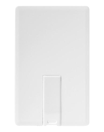 branded slim card-shaped 2gb usb flash drive