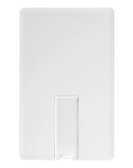 branded slim card-shaped 4gb usb flash drive