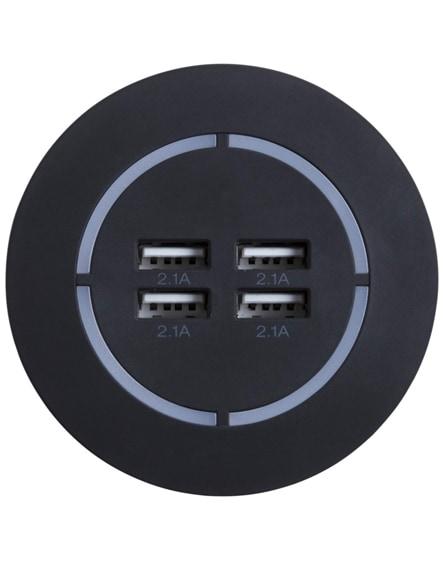 branded scx.design h10 smart light-up usb hub
