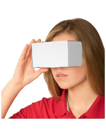 branded veracity cardboard virtual reality glasses