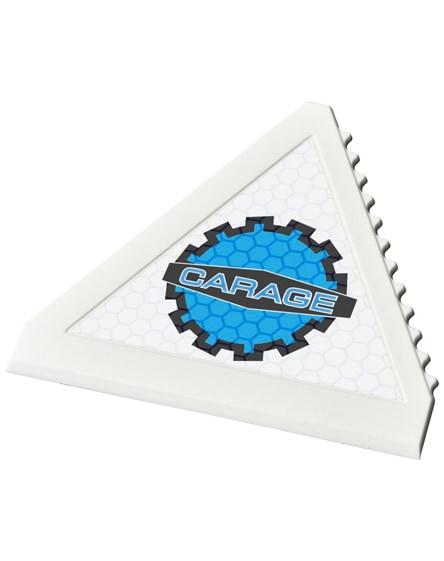branded averall triangle ice scraper