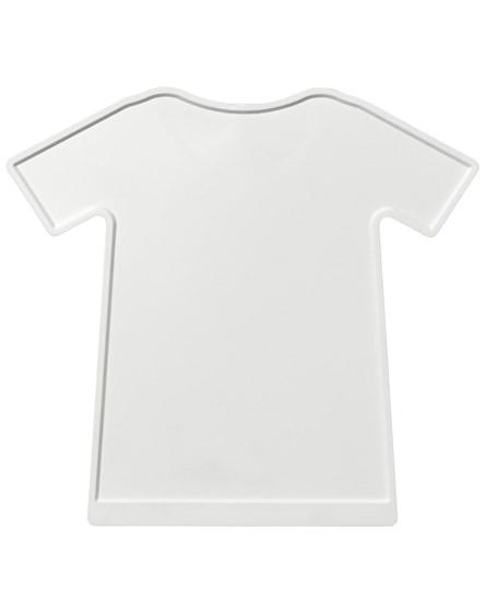 branded brace t-shirt shaped ice scraper
