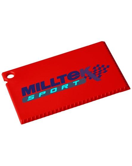 branded coro credit card sized ice scraper