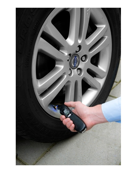branded shines 3-in-1 tyre gauge with led light