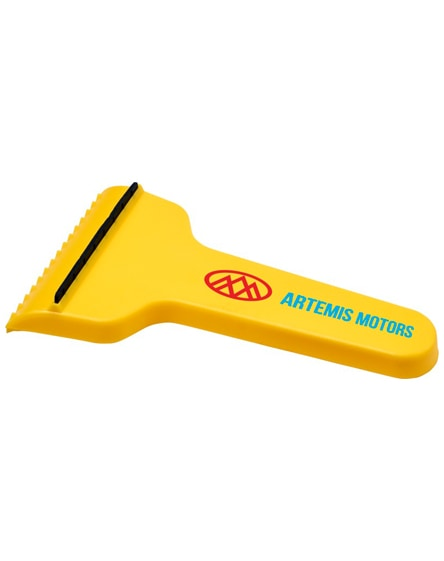 branded shiver t-shaped ice scraper