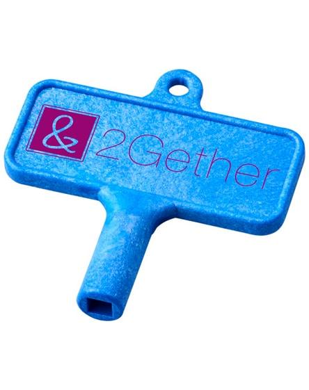 branded largo plastic radiator key