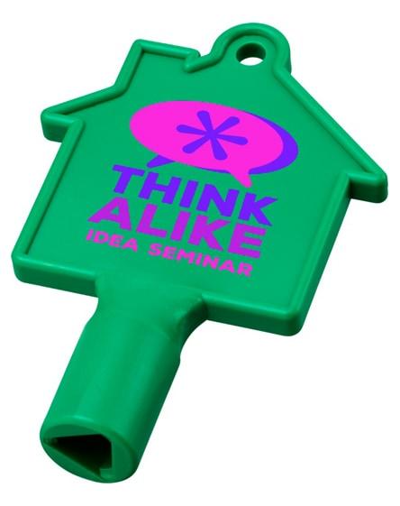 branded maximilian house-shaped meterbox key
