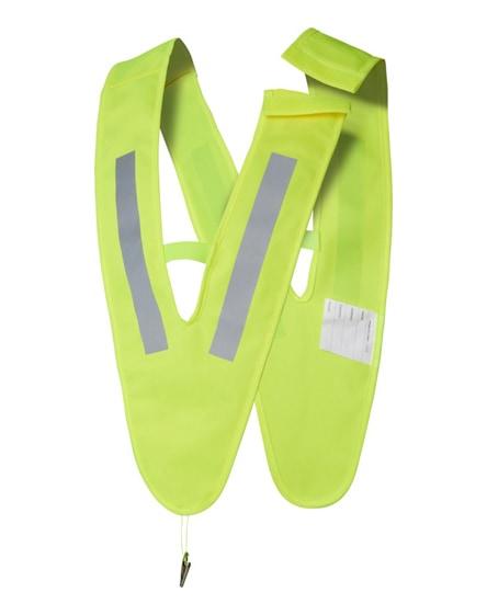 branded nikolai v-shaped safety vest for kids