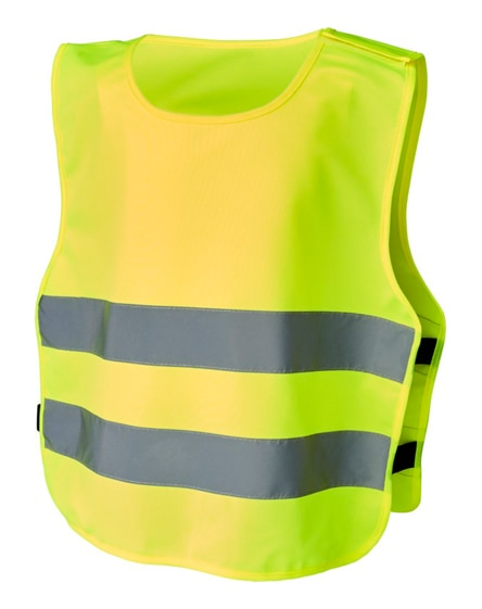 branded odile xxs safety vest with hook&loop for kids age 3-6