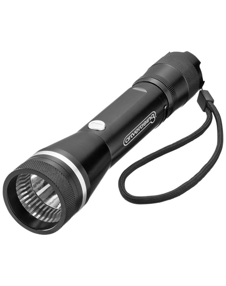 branded polaris 3w led torch light with belt clip