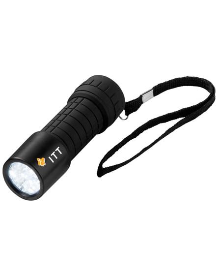 branded shine-on 9-led torch light