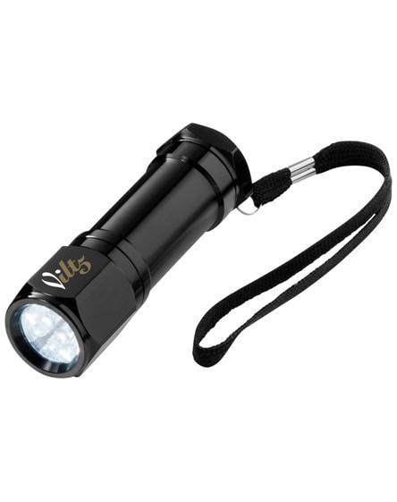 branded trug 8-led torch light
