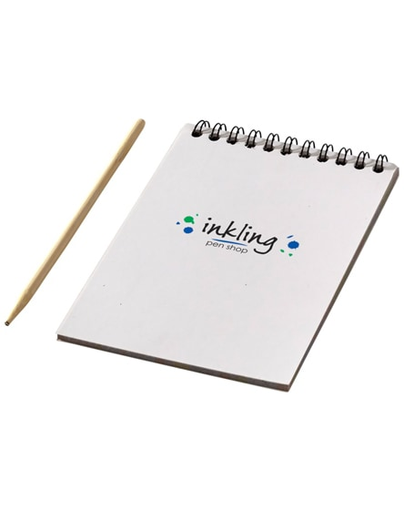 branded waynon colourful scratch pad with scratch pen