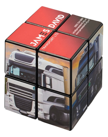 branded rubik's cube 2x2