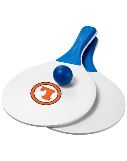 branded matira beach paddle ball set