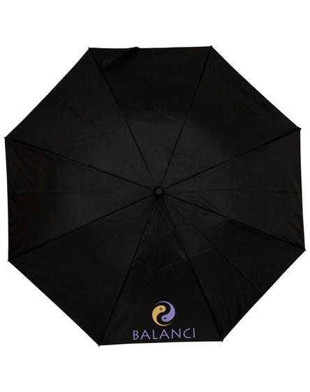 "branded blue-skies 21"" foldable auto open umbrella"