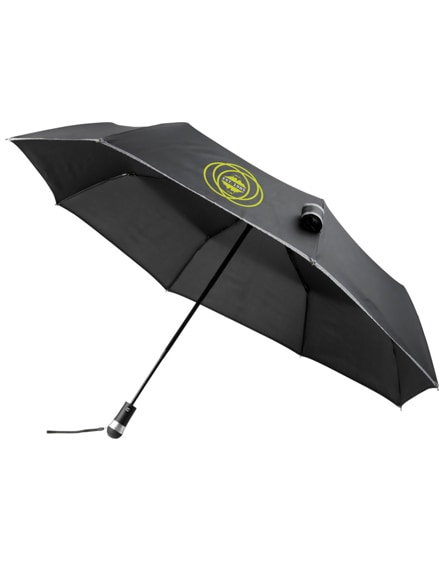 "branded luminous 27"" led foldable auto open/close umbrella"