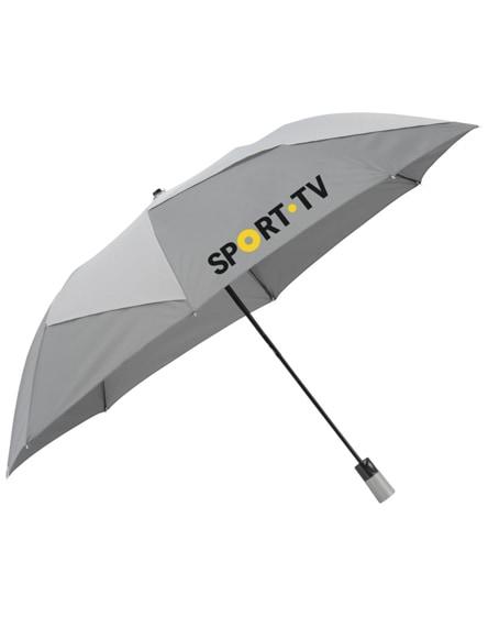 "branded pinwheel 23"" foldable auto open umbrella"